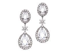 Classic Drop Earrings B0712DD | Bridal Jewelry | Tejani