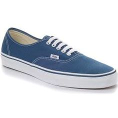 Tenis Vans em tecido azuis