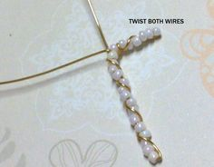 I'm sharing here, a tutorial … July 2013 (Tuesday) @ Hello! I'm sharing here, a tutorial on how to make a Twisted Wire Beaded Cross Pendant. It's a … - Wire Jewelry Cross Necklace Diy, Cross Jewelry, Wire Jewelry Rings, Wire Wrapped Jewelry, Jewlery, Beaded Cross, Christian Jewelry, Beaded Jewelry Patterns, Beads And Wire