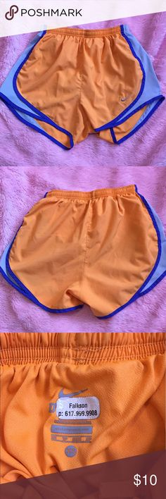 Nike workout shorts- FREE w/ a purchase of $20+ Good used condition. A few light stains Nike Shorts
