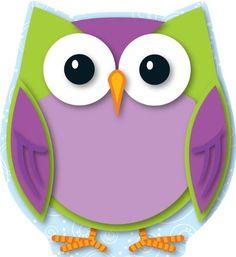 Carson Dellosa Colorful Owl Cut-Outs (120133)