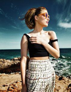 Amber Heard.  ♡