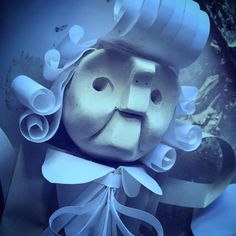 The Barrister from The Hunting of the Snark. #LewisCarroll #PictureBooks #art #design #clay #paper #illustration #sculpture #scbwi #nautical #wip