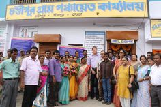 It was a memorable event for the Gram Panchayat members of Chandipur. Mr. Onno Ruhl seemed equally delighted seeing the progress made by the village through institutional support from ISGP Project