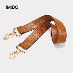 a1baa59539 IMIDO 63cm Short Genuine Leather bag Strap for Handbags Women replacement  straps shoulder belt accessories parts