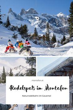Die Naturrodelbahn von der Lindauer Hütte durchs Gauertal nach Latschau ist eine der längsten Rodelstrecken im Montafon. Jede Menge Spaß bei dieser Schlittenfahrt ist auf jeden Fall garantiert. Pures Erlebnis für die ganze Familie! #meinmontafon #muntafu #montafon #rodeln #naturrodelbahn #visitvorarlberg #schnee #berge #visitaustria #urlaubindenbergen  Copyright: Montafon Tourismus GmbH, Schruns - Stefan Kothner Mount Everest, Activities, Mountains, Nature, Fun, Travel, World Peace, Mountain Landscape, Winter Vacations