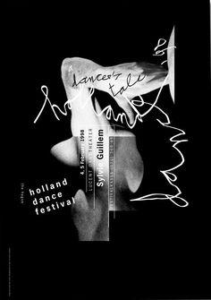 #bobvandijk Campaign Holland Dance Festival 1998