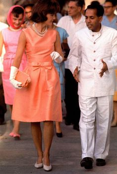 March 17, 1962 - Jackie Kennedy in Udaipur, India