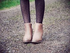 polka dots tights Polka Dot Tights, Polka Dots, Stockings, Mood, Ankle, My Style, Outfits, Inspiration, Accessories