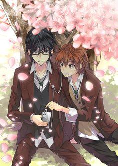 Misaki x Fushimi | K-Project #anime