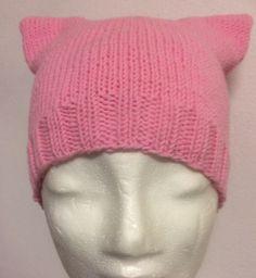 Pussy hat mönster på rundsticka