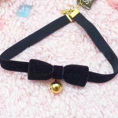 Black Kawaii Cosplay Bracelet/Choker SP164994