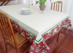 Dê boas vindas aos seus convidados com estilo!  Essa Toalha de mesa personalizada pode ser uma peça maravilhosa no seu almoço, jantar, lanche, piquenique ou churrasco ou festa. Ótimo item para casa de campo, praia ou para presentear.  As toalhas de mesa personalizadas são confeccionadas em tecido...