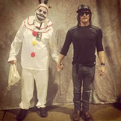 Daryl and Twisty the clown, I'd love to see Daryl show up in AHS...