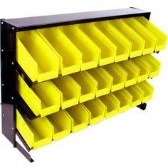Stalwart 24 Bin Parts Storage Rack Trays-75-24BIN at The Home Depot