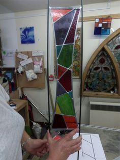 SpiroGlass - Unique Stained Glass Garden Art