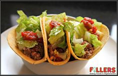 Love to taste something different??  Then try out these irresistible ‪#‎Mexican‬ ‪#‎Tacos‬ with its melting flavours only at Fillers