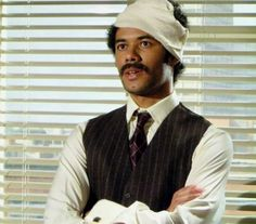 Again not Richard Ayoade so much as Dean Learner playing Thornton Reed in `Garth Marenghi's Darkplace'. The acting is sublime. Garth Marenghi's Darkplace, Richard Ayoade, Nerd Love, Corned Beef, Good People, Dean, Actors & Actresses, Hot Guys, Acting