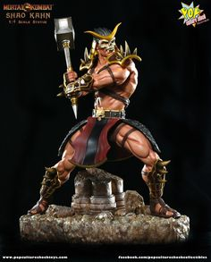 [POP CULTURE SHOCK] Mortal Kombat: Shao Kahn Statue
