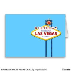 21 Best Las Vegas Birthday Cards Images