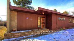 2495 S High St - Denver Mid-Century Modern Home Tour