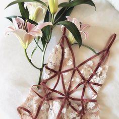 by forloveandlemons | #braletteboutique #tbbxme #fashion #lingerie #underwear #undergarments