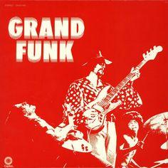Paranoid, Live Album, Grand Funk Railroad, The Best Rock Music Online - Rock Music Online Rock Album Covers, Classic Album Covers, Music Album Covers, Music Albums, Grand Funk Railroad, Lps, The Red Album, Rock And Roll, Classic Rock Albums