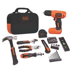 8V MAX* Cordless Lithium Drill Project Kit
