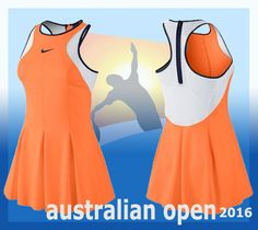 Maria Sharapova Australian Open Nike outfit for the upcoming 2016 championship