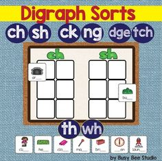 Digraph Sorting Activity