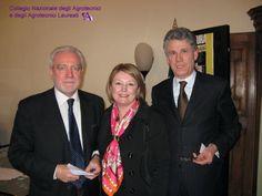 Da sinistra: Sandro Bonzo, delegato del CUP dal Consiglio Nazionale degli Avvocati; Marina Calderone, Presidente del CUP e dei Consulenti del Lavoro; Paolo Piccoli, Presidente dei Notai Italiani.