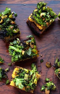 Spiced Sweet Potato and Roasted Broccoli Toasts-Healthy Broccoli Recipes That Will Watter Your Mouth