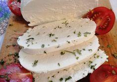 Mozzarella, How To Make Cheese, Food To Make, Cooking Recipes, Healthy Recipes, Healthy Food, Food 52, Raw Vegan, Queso