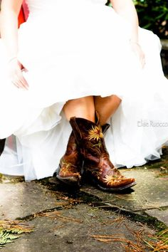 These are probably the cutest cowboy boots I've ever seen.