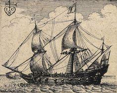 Wenceslaus Hollar (1607-1677), An English Warship