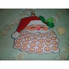 Santa Advent Calendar from Just Sew Sandy & Debora