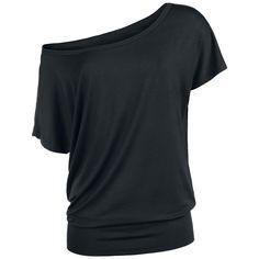 T-shirt pour Femme signé EMP R.E.D. avec bordure large dans le bas.