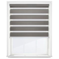 Cheapest Blinds UK Ltd | Dark Grey Day & Night Blind Day Night Blinds, Cheap Blinds, Dark Grey Color, Day For Night, Curtains, Home Decor, Blinds, Decoration Home