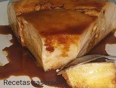 Recetas Caseras de Carmen: Pan de calatrava Flan, Sweet Recipes, Tiramisu, French Toast, Food And Drink, Chocolate, Breakfast, Ethnic Recipes, Desserts