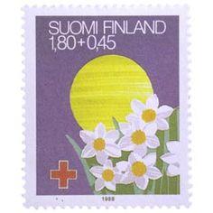Postimerkki: Juhlapyhiä - Pääsiäinen | Suomen postimerkit Luxury Homes Dream Houses, Finland, Stamps, Flowers, Art, Seals, Postage Stamps, Royal Icing Flowers, Stamp