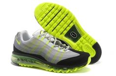 new styles eb136 f049c Cheap Nike Air Max 95 Fluorescent Green Black White Hot Sale - Click Image  to Close