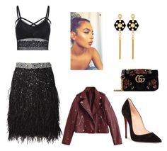 """""""Untitled #106"""" by heta-makinen on Polyvore featuring Christian Louboutin, Gucci and Henri Bendel"""