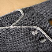 Ravelry: Garter Stitch Baby Kimono pattern by Joji Locatelli - *pattern*