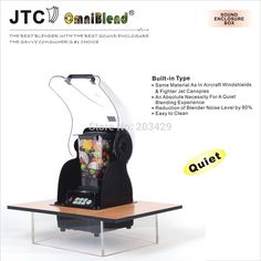 Commercial Blender with Built-in sound enclosure box, Model: TM-800AQ2, FREE…