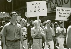 After Stonewall: The First-Ever Pride Parades, In Vintage Photos | thanks, Brenda Howard http://substantial.com/events/gay-pride-month-2013-06-01-2013