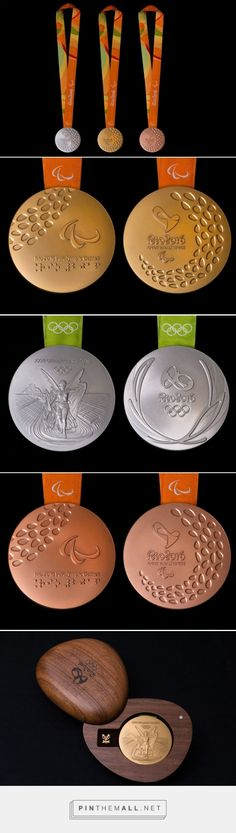 Packaging the Olympic Medal via The Dieline curated by Packaging Diva PD. All products associated with medals, including certificates and packaging, come with an official seal from the Forest Stewardship Council.