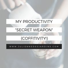 My productivity secret weapon - noise! (But not just any noise...Coffitivity!)