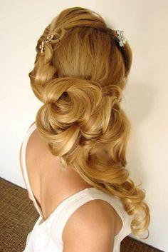 Beautiful hairstyle....