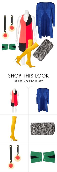 """""""Untitled #8601"""" by billyblaze ❤ liked on Polyvore featuring Alexander Wang, Pleats Please by Issey Miyake, Balenciaga, Vivienne Westwood and Marni"""