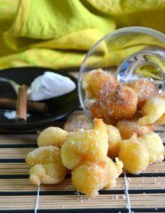 Frittelle con farina di riso, dolci per celiaci
